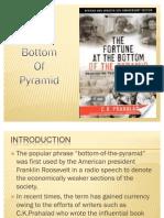 Bottom of Pyramid