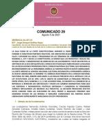 Com. SU-257-21 Nuevo Liberalismo