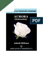 JAKOB BÖEHME Aurora (fragmentos)
