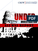 Under Investigation Alumni Report