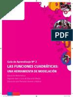 Guía Nº 2 Matemática Funciones Cuadráticas