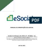 Manual de Orientação ESocial SST