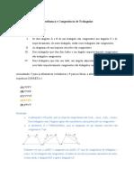 Lista de Exercício - Semelhança e Congruência - Leone Alves da Silva