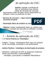 AULA 5 (Âmbito de aplicação do CDC)