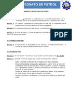 Bases Del Campeonato 2021 II