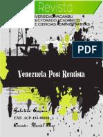Venezuela Post Rentista