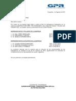 Carta CPHS