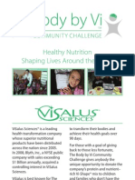 Body by Vi™ Community Challenge Brochure