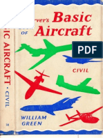 Observer's Book of Basic Aircraft Civil Reprint 1968