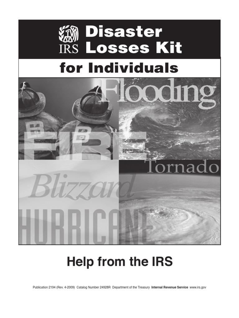 Irs Pub 2194disaster Relief Tax Addendum Irs Tax Forms Internal