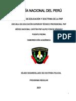 SYLLABUS COMPLETO DE DOCTRINA POLICIAL