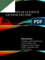 Funciones de la policía nacional del Perú Constitución Politica AEA