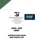Aen Aenl Aens Instr Parts