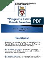 Programa Estatal de Tutoría Académica