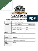 UDABOL Teledetección 2do parcial