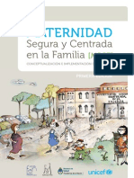 Maternidad Segura y Centrada en la Familia [MSCF]. Conceptualización e implementación del modelo