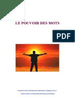 Le Pouvoir Des Mots Version Mars2020