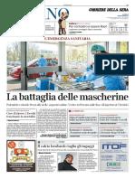 Corriere Della Sera Milano 7 Aprile 2020
