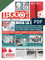 Leggo Milano 6 Aprile 2020