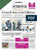 La Repubblica Genova 5 Aprile 2020