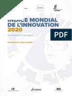 Indice mondial de l'innovation 2020
