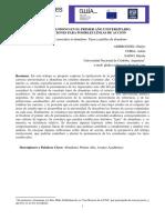 Ambroggio, G. et.al. TIPOS DE ABANDONO EN EL PRIMER AÑO UNIVERSITARIO