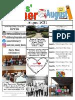 8.2021 Kids Corner Newsletter