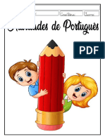 Apostila de Português 3o Ano