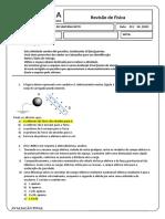 Avaliação Final (Revisão de Física)