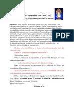 FIESTA PATRONAL SAN CAYETANO erección parroquiA