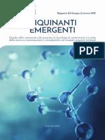 Report Inquinanti Emergenti