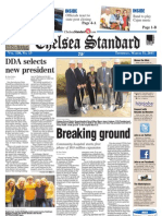 The Chelsea Standard Front Page March 31, 2011