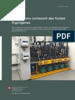 Installations contenant des fluides frigorigènes (1)