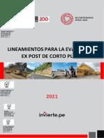 Lineamientos Evaluaci n Ex Post Corto Plazo 03 JULIO 2021