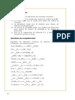Exercices équations chimiques