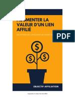 Augmentez La Valeur Dun Lien Affilie
