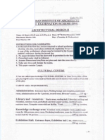 Dec-2009indian Institute Of Architects Part-2 Examination Question Papers