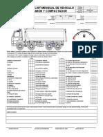 Anexo 05 Check List Mensual Compactador