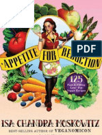 Appetite for Reduction 125 Fast and Filling Low-Fat Vegan Recipes