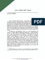 Valgiglio (1973) Appunti Su Fonti e Influssi Dell` Umano in Terenzio