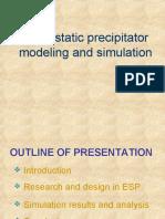 37239782 Electrostatic Precipitator Modeling and Simulation
