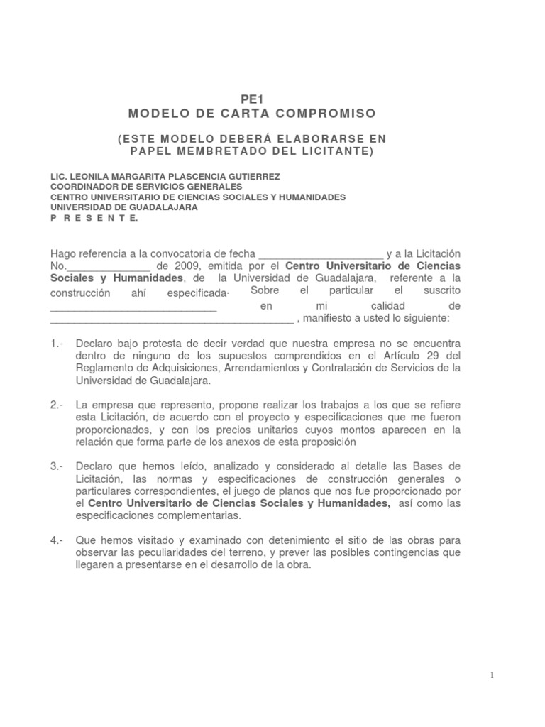 Hermosa Plantilla De Propuesta De Precio Regalo - Ejemplo De ...