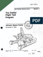 The Orbital Flight Test Program