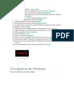 Crucigrama de Windows