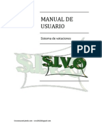 Manual de Usuario y de Instalacion