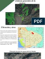 Características generales de la cuenca