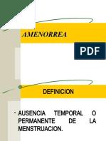 Amenorrea[1]