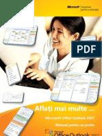 Microsoft Office Outlook 2007-romana
