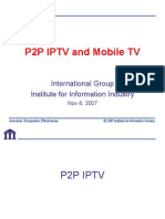 P2P and Mobile TV 11052007