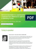 Demand Gen vs Lead Nurturing